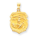 14k Gold St Michael