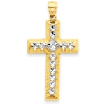 14k Gold Cross
