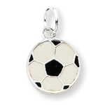 Sterling Silver Soccer Ball