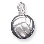 Sterling Silver Volleyball