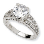 Sterling CZ Ring