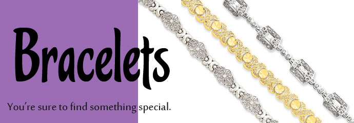 Bracelets - You're sure to find something special.