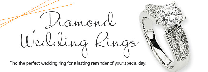 Rings - Find the perfect Wedding Ring for a lasting reminder of your special day.